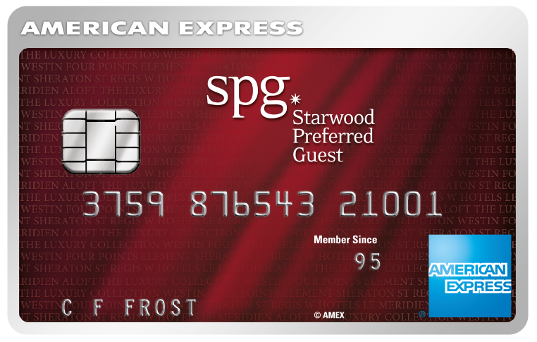 Is it worth getting the Starwood Preferred Guest Amex?