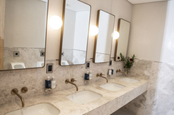 British Airways Johannesburg Lounge bathrooms