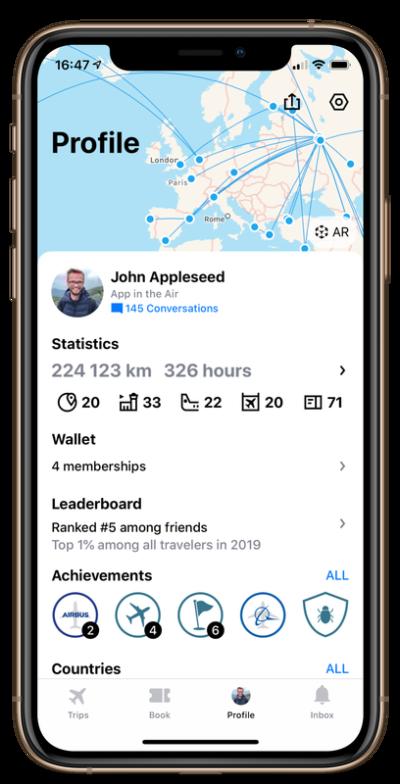 App In The Air free Premium subscription trial