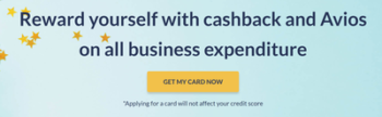Earn Avios with Capital on Tap Business Rewards visa credit card