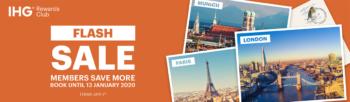 IHG launches European Flash Sale