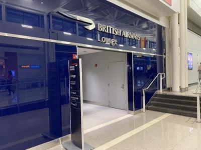British Airways lounge Washington Dulles entrance