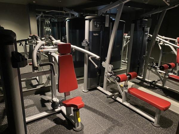 Kimpton Charlotte Square gym