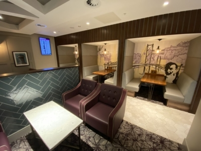new Aspire Lounge EDInburgh airport