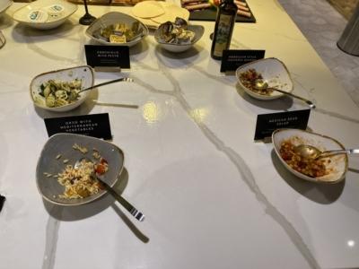 new Aspire Lounge EDI salad