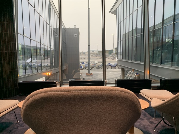 Finnair Platinum Lounge at Helsinki Airport