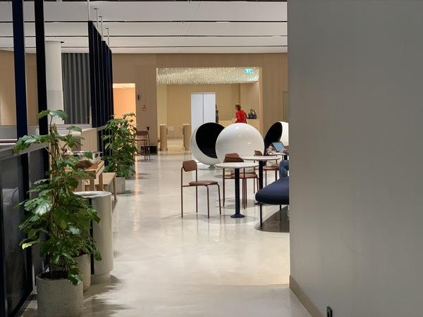 Finnair Business Lounge