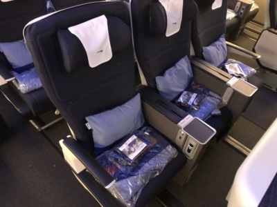 British Airways World Traveller Plus review A380