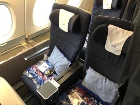British Airways World Traveller Plus A380 seat