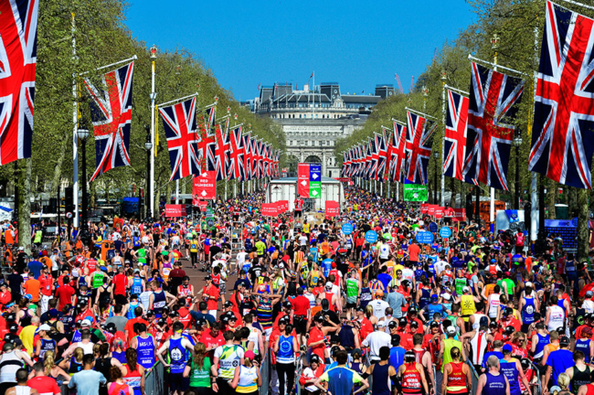 Use IHG Rewards Club points to run the London Marathon