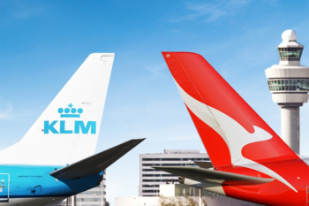 Earning Qantas points with Air France KLM