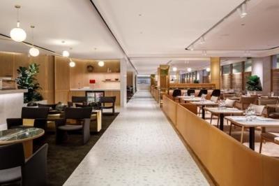 Qantas First Class lounge Singapore