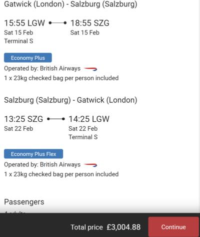 Flight Pass example