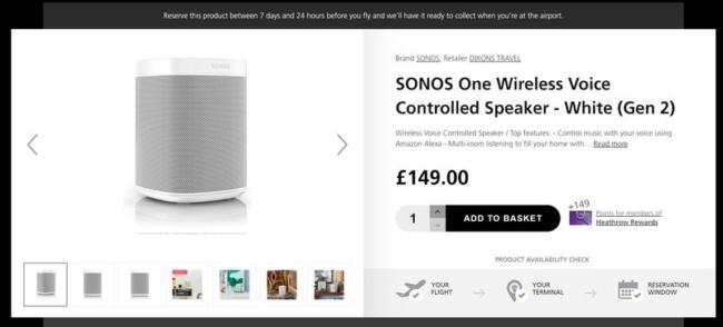 Sonos at Heathrow