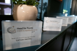 Head for Points Awards trophy