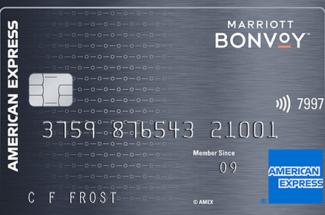 American Express Marriott Bonvoy credit card