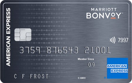 American Express Marriott Bonvoy credit card