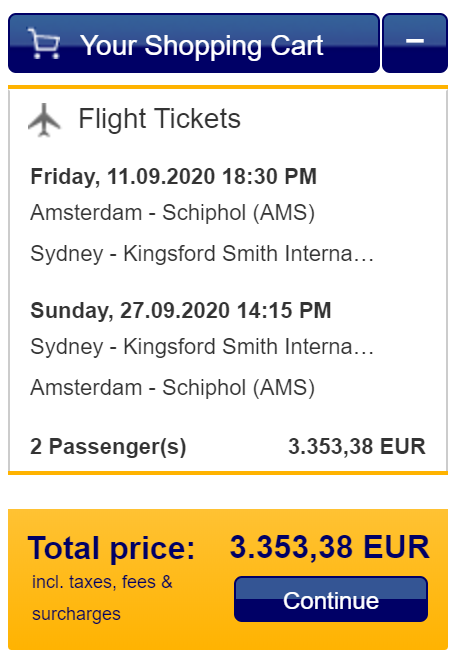 Lufthansa 241 Australia