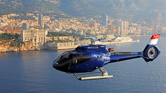 British Airways free Monaco helicopter transfer
