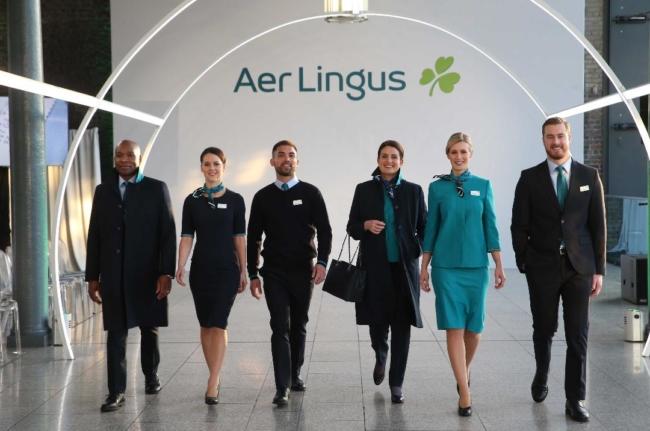New Aer Lingus uniform