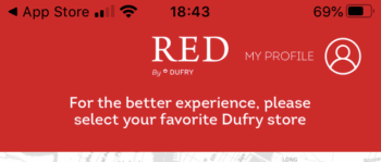 RED by Dufry review