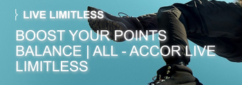 Earn 6000 bonus Accor Live Limitless points