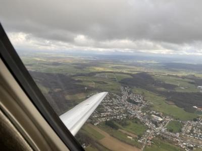 Hahn Air wing view