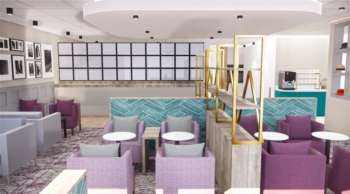 Luton Airport refurbished Aspire lounge
