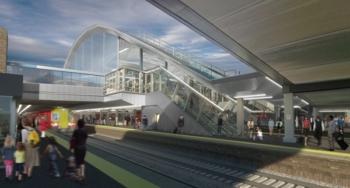 New Gatwick Airport rail Station