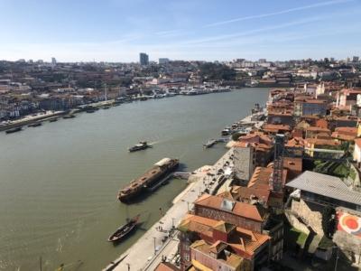 Porto quayside