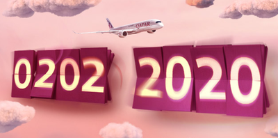 Qatar Airways 10% discount day