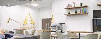 Leeds Bradford Airport Aero Club Lounge