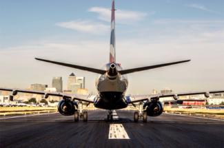 British Airways BA London City Airport