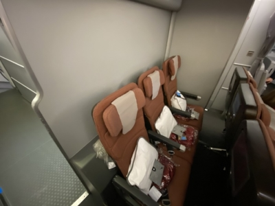 Qantas A380 economy