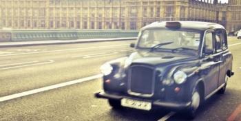 noir taxi london