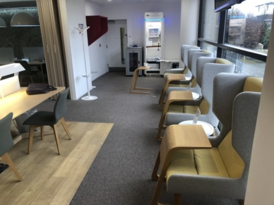 Review Regus Express business centre lounge London Gatwick airport South Terminal