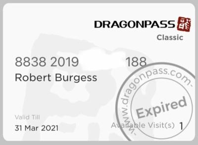 Dragonpass card