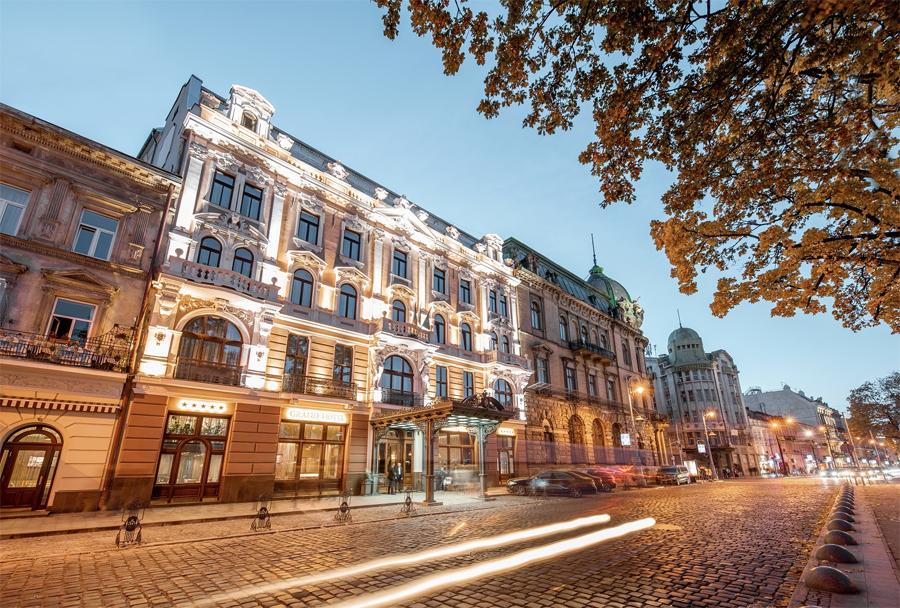Grand Hotel Lviv Ukraine review