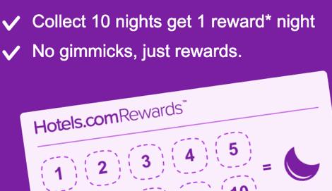 changes to Hotels.com Rewards