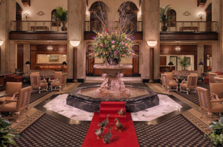 Peabody hotel Memphis Tennesee