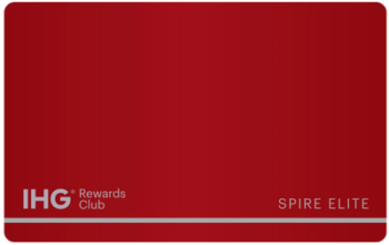 What IHG Rewards Club points count for status?