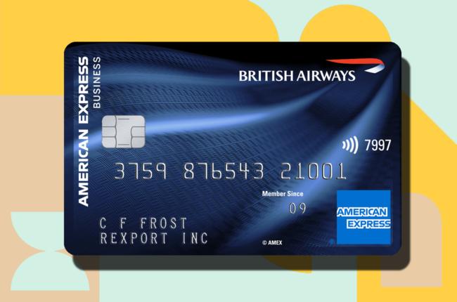 british airways accelerating business credit card