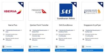Qantas Frequent Flyer UK American Express Membership Rewards partner