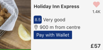 Get £10 of Booking.com hotel credit