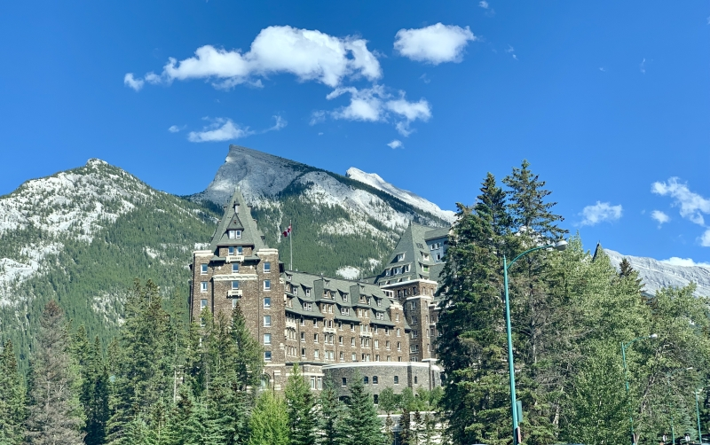 Review Fairmont Banff Springs hotel