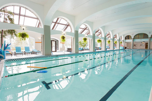 Fairmont Banff Springs indoor pool