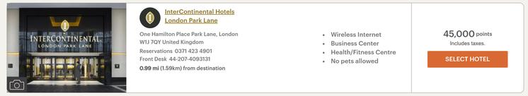 IHG Rewards Club dynamic pricing London