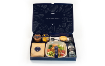 British Airways business class Club World coronavirus food catering