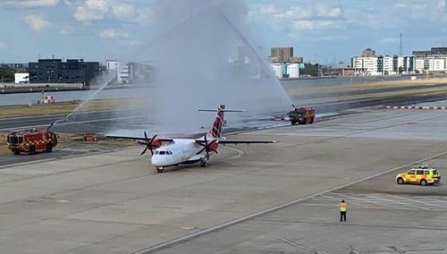 London City Airport reopens