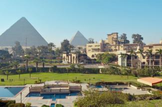 Marriott Mena House hotel Cairo